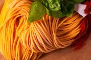 Spaghetti zafferano